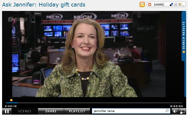 Ask Jennifer  Holiday gift cards