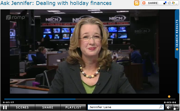 Ask Jennifer  Dealing with holiday finances