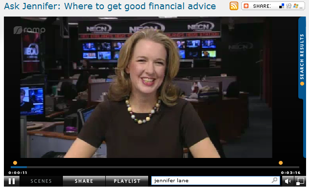 Ask Jennifer  Where to get good financial advice