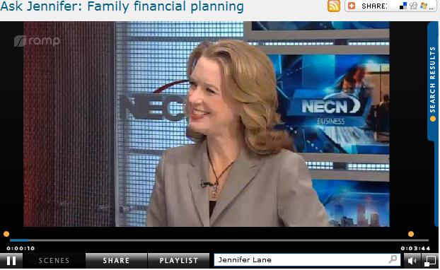 Ask Jennifer  Family financial planning