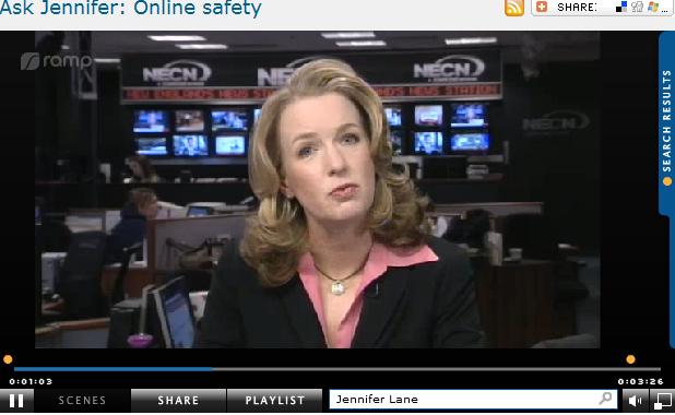 Ask Jennifer  Online safety