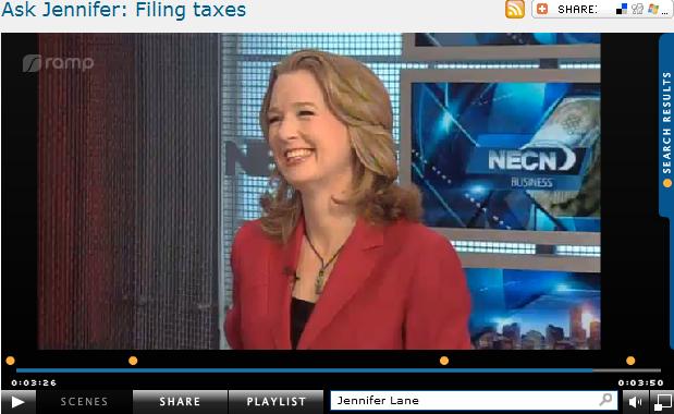 Ask Jennifer  Filing taxes