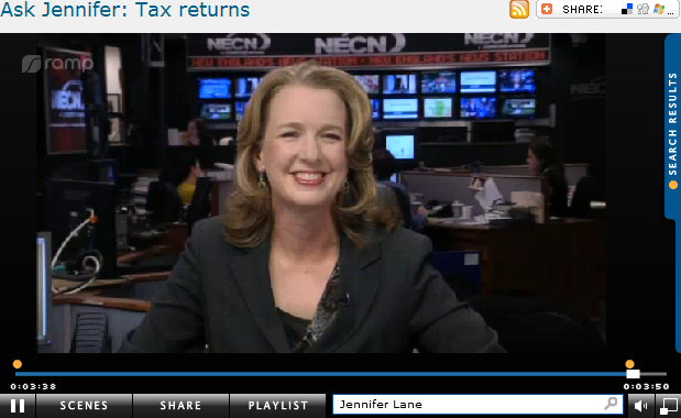 Ask Jennifer  Tax returns