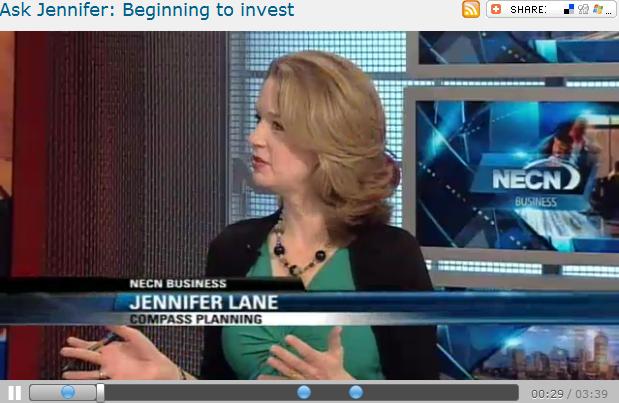 Ask Jennifer  Beginning to invest