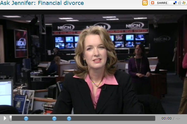 Ask Jennifer  Financial divorce