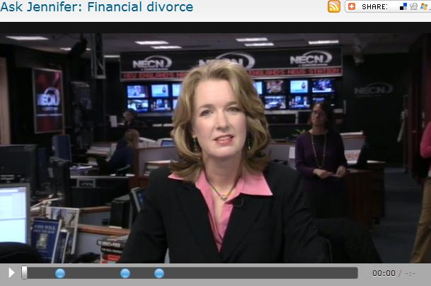 Ask Jennifer  Financial divorce