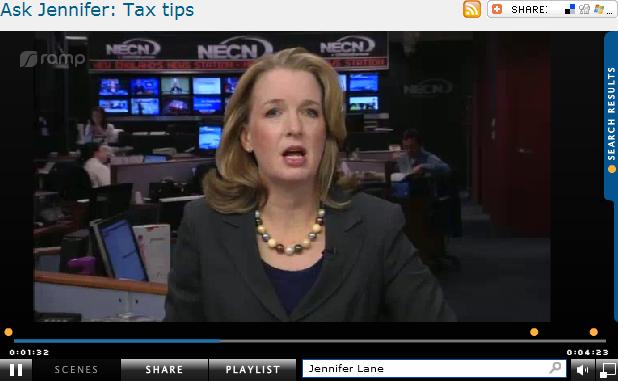 Ask Jennifer  Tax tips