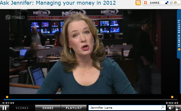 Ask Jennifer  Managing your money in 2012