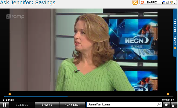 Ask Jennifer  Savings