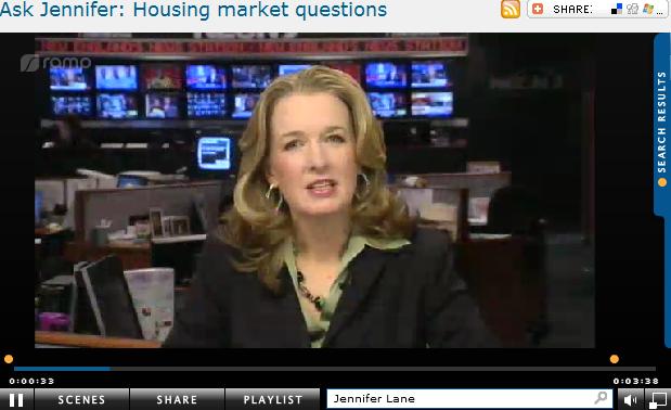 Ask Jennifer  Housing market questions