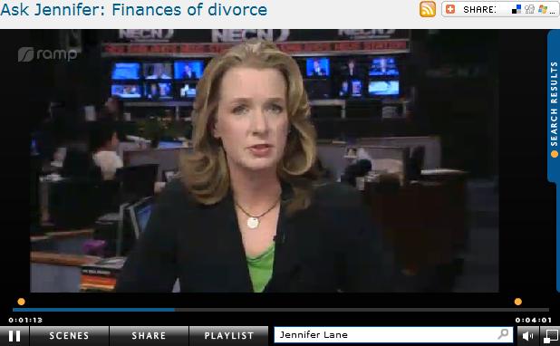 Ask Jennifer  Finances of divorce