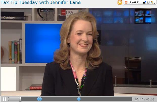 Tax Tip Tuesday with Jennifer Lane  222