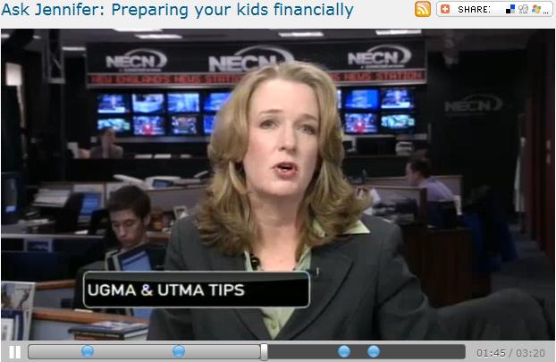 Ask Jennifer  Preparing your kids financially