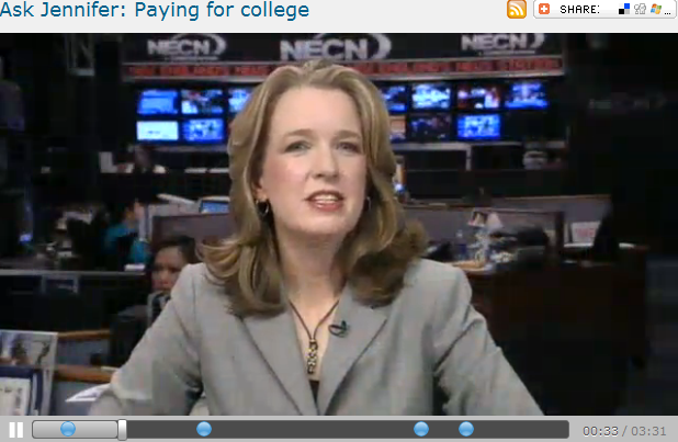 Ask Jennifer  Paying for college
