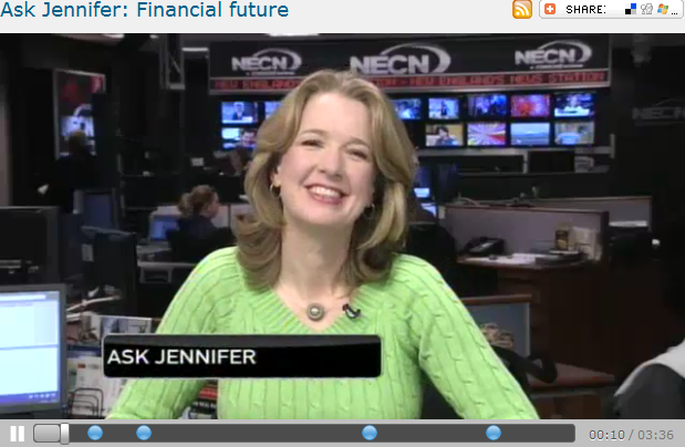 Ask Jennifer  Financial future