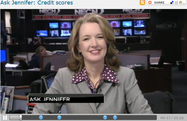 Ask Jennifer  Credit scores