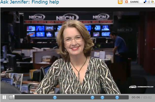Ask Jennifer  Finding help
