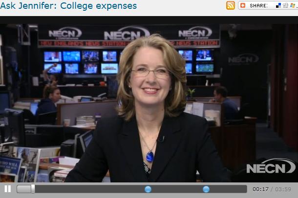 Ask Jennifer  College expenses