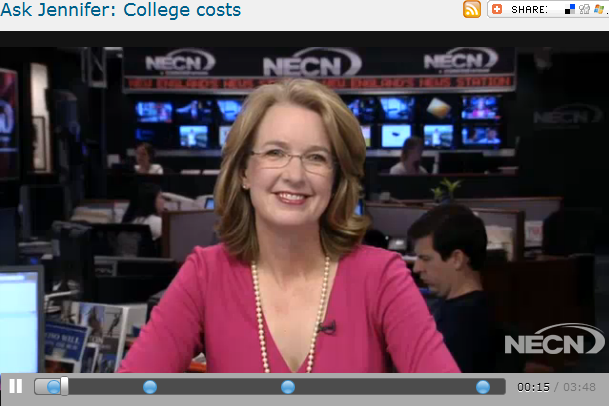 Ask Jennifer  College costs