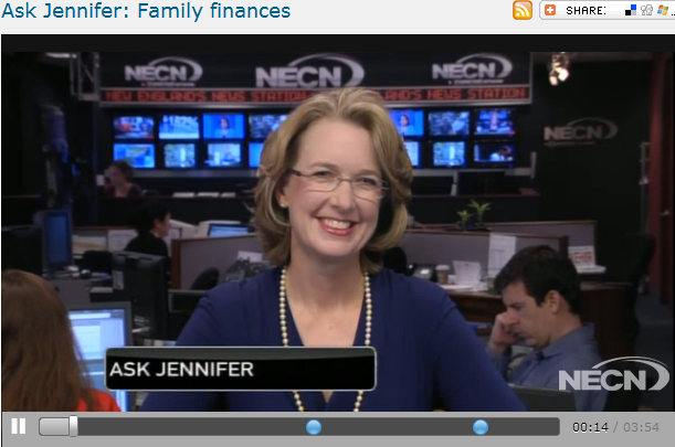 Ask Jennifer  Family finances