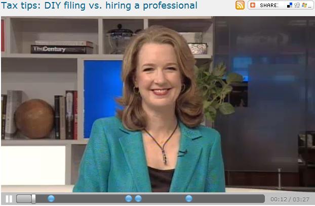 Tax tips  DIY filing vs. hiring a professional