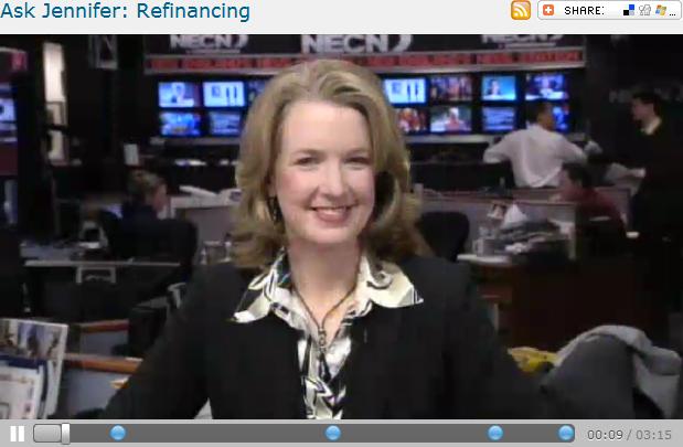 Ask Jennifer  Refinancing