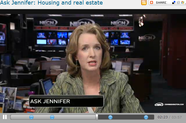 Ask Jennifer  Housing and real estate