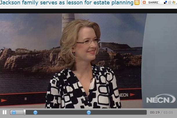 Jackson family serves as lesson for estate planning