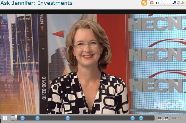 Ask Jennifer  Investments