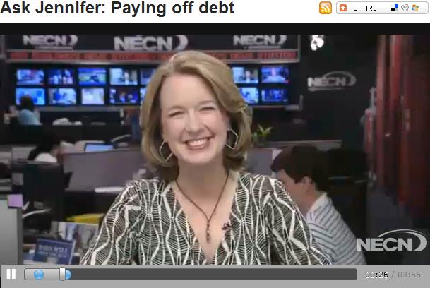 Ask Jennifer  Paying off debt