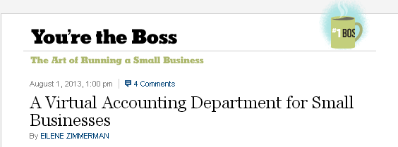 A Virtual Accounting Department for Small Businesses   NYTimes.com