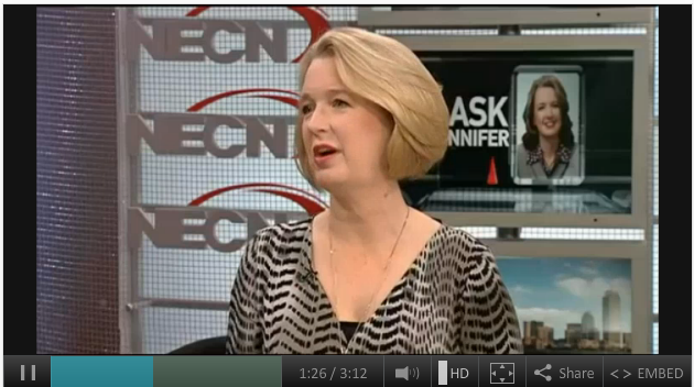 Ask Jennifer  Smart Investments   NECN